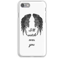Angels Are Watching Over You iPhone Case/Skin