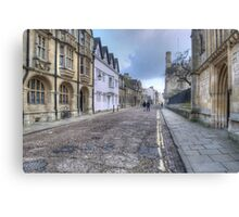 Merton Street Oxford Canvas Print