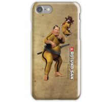 Sparring with Mortality iPhone Case/Skin