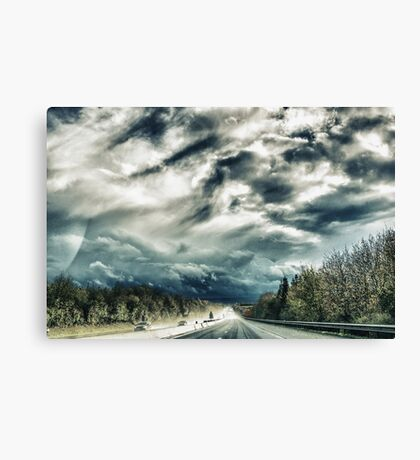 On the Road again Canvas Print