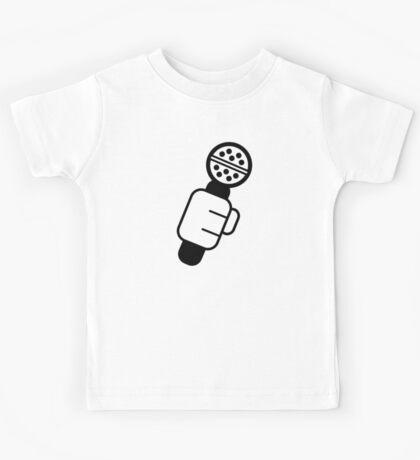 Microphone Check Kids Tee