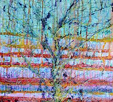 Breathe - Tree of Life No 4 by Regina Valluzzi