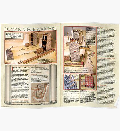 Roman Siege Warfare Poster
