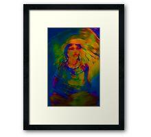 Wicca Madonna Framed Print