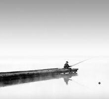 Fisherman at Sunrise by Margaret Morrissey