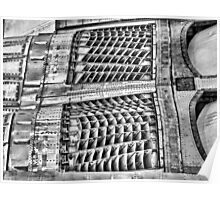 Concorde Detail - IWM Duxford Poster