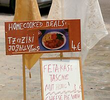 Home Cooked Meals - Homemade Sign by Francis Drake