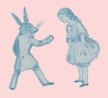 Alice and the White Rabbit Kids Clothes