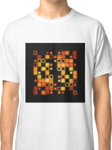 wooden bar code Classic T-Shirt