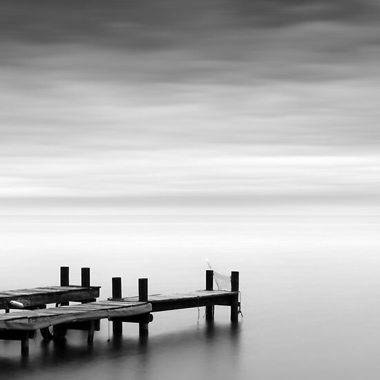 Jetties at Sunrise by Maggy Morrissey