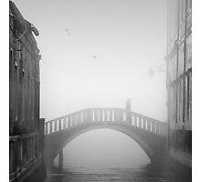 Venetian Bridge, Italy Photographic Print