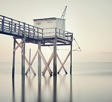 Fishing Hut by Maggy Morrissey