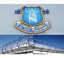 Everton - 'Grand Old Team to Support' by footypix
