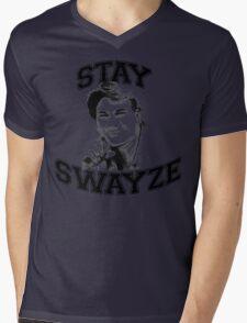 Stay Swayze! Mens V-Neck T-Shirt