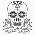 Day Of The Dead - Sugar Skull by enbro