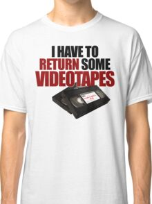 Videotapes! Classic T-Shirt