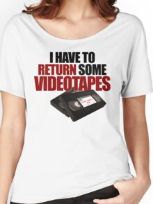 Videotapes! Women's Relaxed Fit T-Shirt