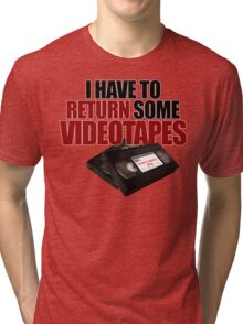 Videotapes! Tri-blend T-Shirt