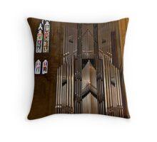 Hanging Organ Throw Pillow