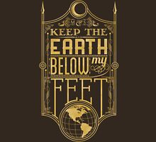 Mumford Typography (earth)(gold) Unisex T-Shirt