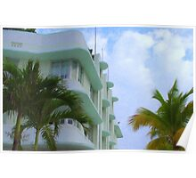 Ocean Drive Miami Poster