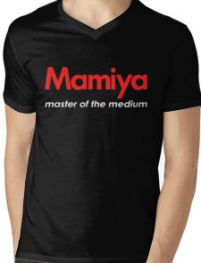 Mamiya Photography Logo Mens V-Neck T-Shirt