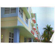 Ocean Drive Hotels Poster