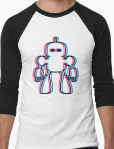 I Robot 3d Men's Baseball ¾ T-Shirt