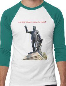 LIGHT BEER Men's Baseball ¾ T-Shirt