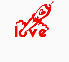 Love Rocket Womens Fitted T-Shirt