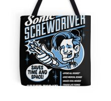 Sonic Screwdriver Ad Tote Bag