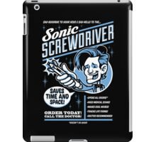 Sonic Screwdriver Ad iPad Case/Skin