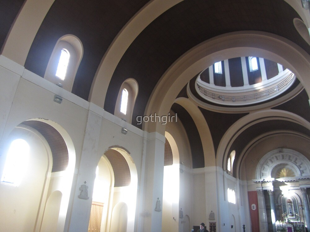 LIGHT FILLS CHURCH by gothgirl