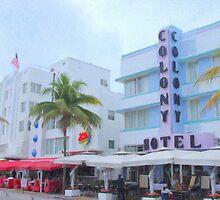 Colony Hotel by Tom  Reynen