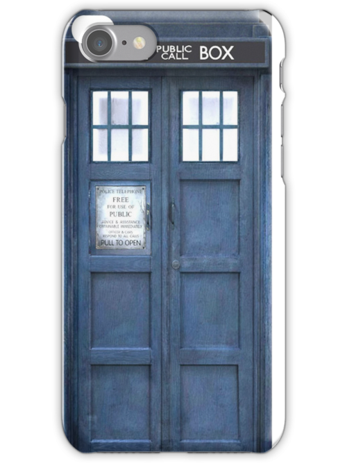 doctor who TARDIS iphone 4/4s/5 case by sailorpewds