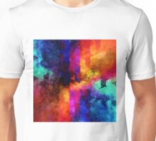 triangle space oil painting Unisex T-Shirt