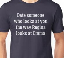 Date Someone Who - Swan Queen Unisex T-Shirt