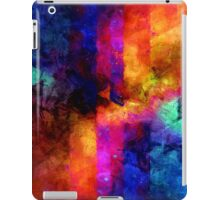 triangle space oil painting iPad Case/Skin