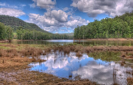 St Albans Wetlands, St Albans NSW - The HDR Experience by Philip Johnson