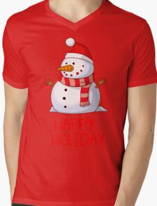 SNOWMAN HAPPY HOLIDAY T-Shirt