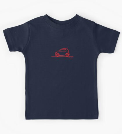 Smart 4 Two Side Red Kids Tee
