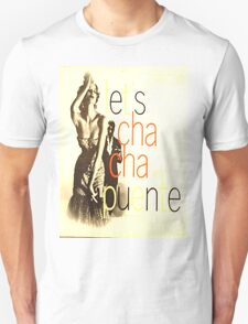 LET'S CHA CHA, 50'S LATIN CHEESECAKE ALBUM COVER Unisex T-Shirt