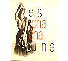 LET'S CHA CHA, 50'S LATIN CHEESECAKE ALBUM COVER Photographic Print