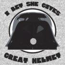 Great Helmet! by ABC Tee!