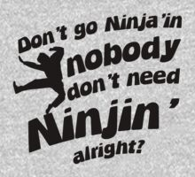 Ninjin'! by ABC Tee!