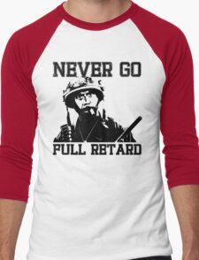 Never Go Full! Men's Baseball ¾ T-Shirt