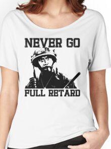 Never Go Full! Women's Relaxed Fit T-Shirt