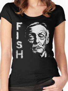 Something's Fishy.. Women's Fitted Scoop T-Shirt