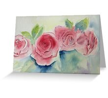 Refined young ladies Greeting Card