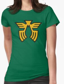 Char Aznable Uniform Rank Womens Fitted T-Shirt